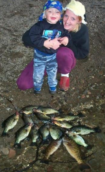 Crappie and smallmouth bass fishing in the Adirondacks of Ny.