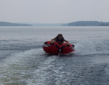 Tubing is a great  past time for kids and adults!